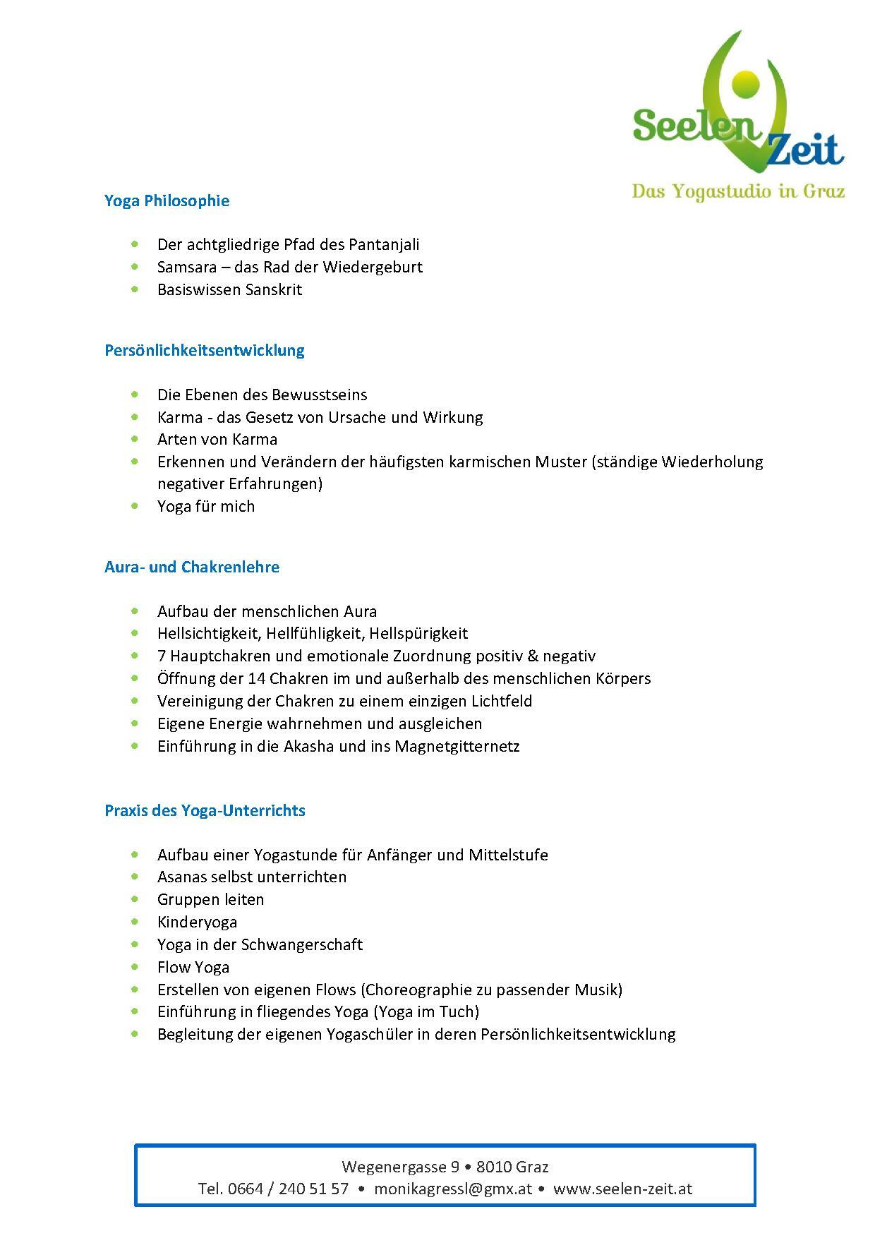 Curriculum Seite 2